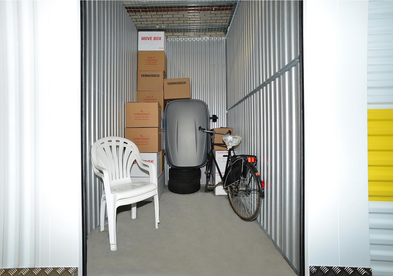 Self storage Inventar